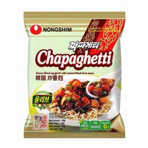 Nongshim Chapaghetti makaronai su sojos pupelių pasta