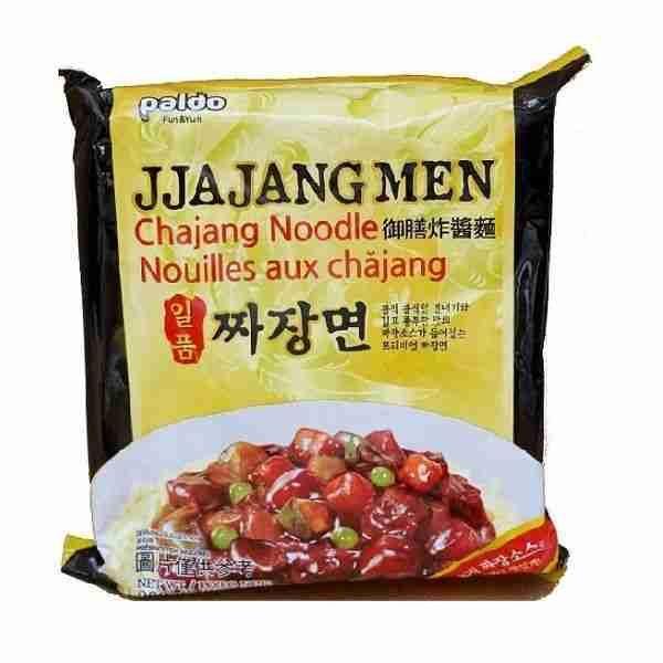"""Makaronai su juodųjų sojos pupelių pasta – """"Jjajangmen"""""""