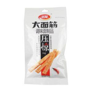 Wei Long - aštrūs sojų mėsos užkandžiai