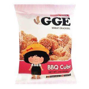 GGE, makaronų užkandžiai BBQ Cube