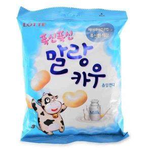 Lotte, pieniniai saldainiai Malang Cow