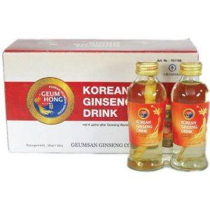 Ženšenio šaknies gėrimas su šaknimi - Korean ginseng drink