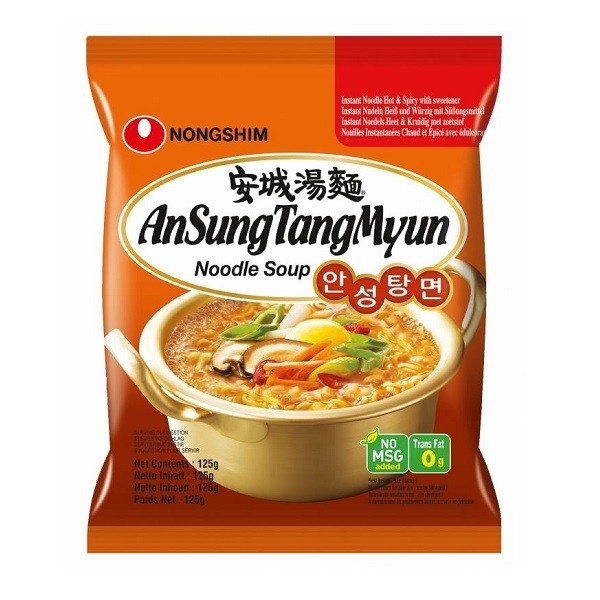 Aštri makaronų sriuba AnSungTangMyun