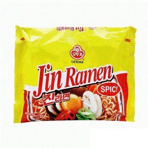 "Aštrūs makaronai su daržovėmis – ""Jin Ramen Spicy"""