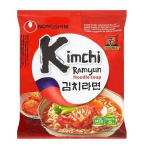 Nongshim ramenai - Kimchi