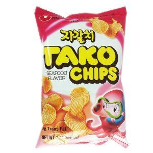 Nongshim traškučiai - Tako Chips