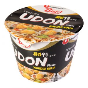 Neaštri makaronų sriuba - Nongshim Tempura Udon