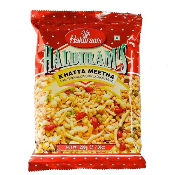 """Indiški užkandžiai """"Haldiram's"""" - """"Khatta Meetha"""""""