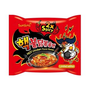 """Hot Chicken Flavor Ramen 2x Spicy"""