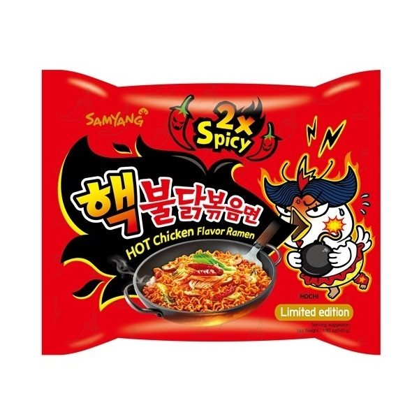 """""""Hot Chicken Flavor Ramen 2x Spicy"""""""