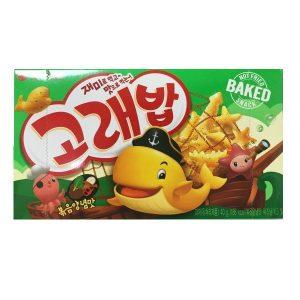 Korėjietiški krekeriai su jūržolėmis