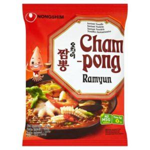 """Makaronų sriuba su jūros gėrybėmis - """"Nongshim Champong Ramyun"""""""