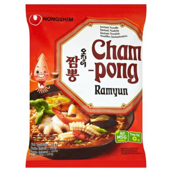 """Makaronų sriuba su jūros gėrybėmis – """"Nongshim Champong Ramyun"""""""