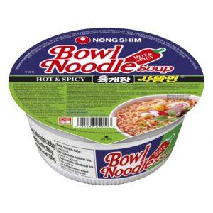"Aštri makaronų sriuba – ""Nongshim Hot&Spicy"" (cup)"
