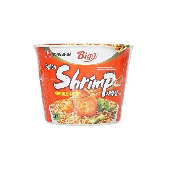 "Makaronų sriuba su krevetėmis – ""Nongshim Shrimp"""